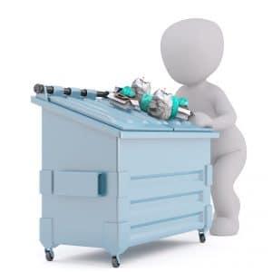 Tampa Dumpster